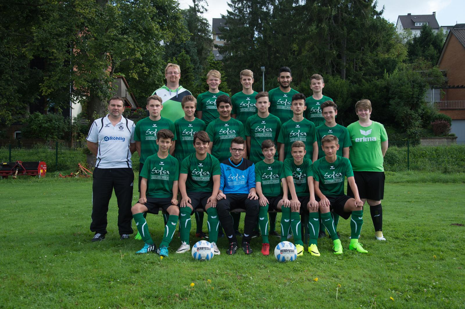 B-Junioren II - Kreisliga 2017
